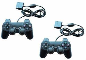 2x-Gamepad-Controller-Joypad-fuer-Playstation-1-PS1-und-Playstation-2-PS2