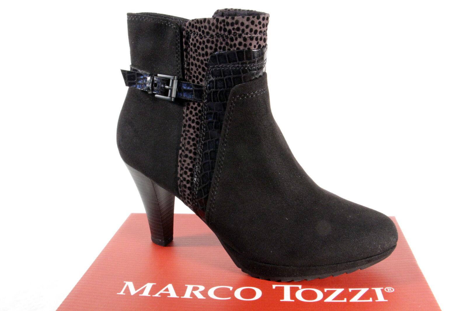 Marco Tozzi 25400 Damen Stiefel, Stiefelette, Stiefel schwarz NEU
