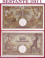 # SERBIA - 1000 1.000 DINARA 1.5. 1942 - P 32a - QFDS / AUNC (4)