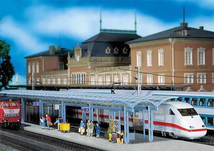 Faller H0 120193 ICE-Bahnsteige 2 St. Neu