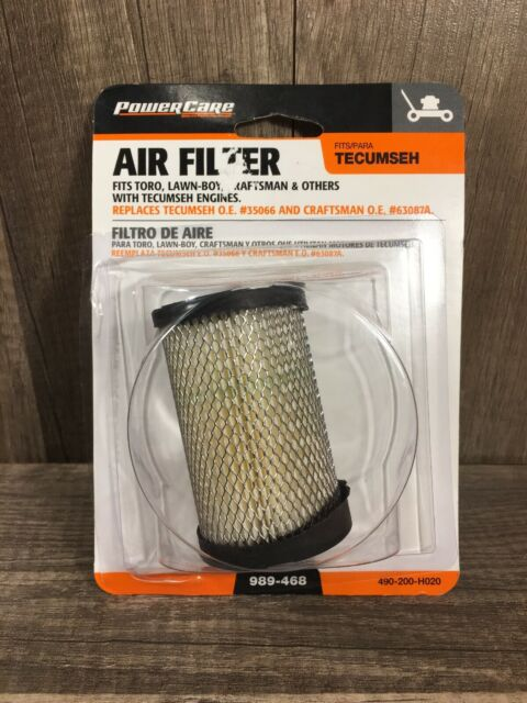 Air Filter Accessories for Tecumseh 35066 740095 Craftsman 33342 63087A Mower