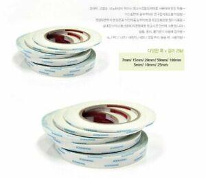 10-rolls-7mm-25m-Sookwang-Double-Sided-Super-Tape-Glue-Adhesive-DIY-Multi-SU
