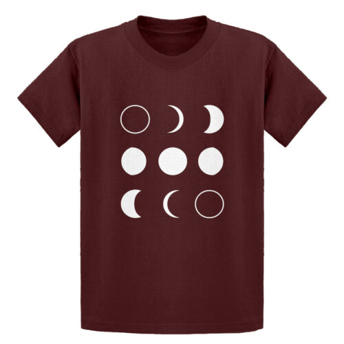 Youth Moon Phases Short Sleeve Kids T-shirt #3264