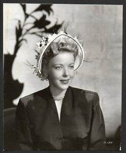 IDA LUPINO hat fashion 1947 VINTAGE ORIG PRESS PHOTO actress portrait | eBay