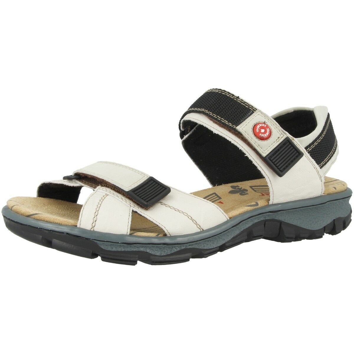Rieker Massa-Buk zapatos Outdoor Anti-stress Sandal Anti-stress Outdoor Ankle-Strap Beige 68851-60 fda20a