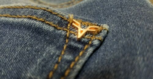 Jeans 68 Womens Vigoss 26 Flared A37 Faded Distressed Haxqwz