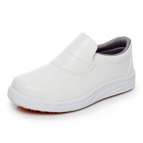 New Chef Shoes Men Women Kitchen Working Footwear Cook Comfy Waterproof Loafers