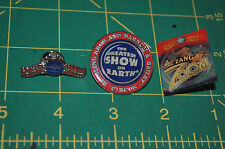 Lot of 3 Ringling Bros Barnum & Bailey Circus Employee only Staff Pin New Logo