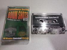 SOUNDBWOYS DESTINY presents Boom Shots 03  (TAPE)  ASSASIN BEENIE MAN D-FLAME
