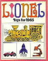 1965 Lionel Trains Consumer Catalog Mint