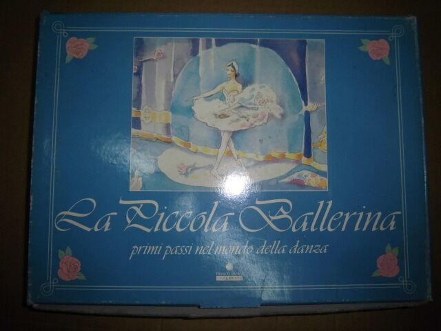 Piccola Ballerina Primi Passi nel Mondo della Danza gioco + musicassetta