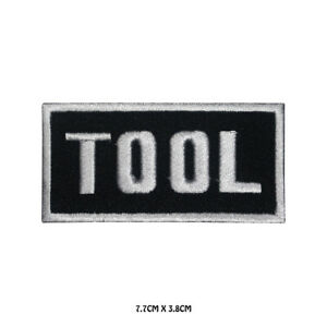 Tool-Music-Band-Embroidered-Iron-On-Sew-On-Patch-Badge-For-Clothes-etc