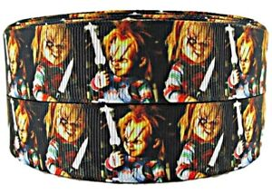 """Super Hero 1/"""" Wide Repeat Ribbon Sold By The Yard USA Seller"""