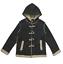 Manteau Veste Duffle Coat Enfant Chiné Garçon Taille  6 à 14 ans