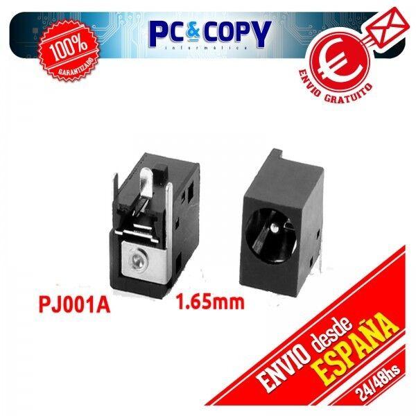 CONECTOR PORTATIL DC POWER JACK PJ001A-1.65mm Compaq EVO: N620