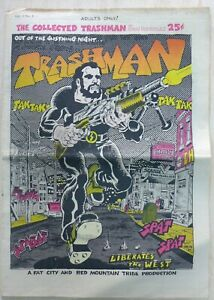 Brillant Collected Trashman #1 Spain Rodriguez 1969 East Village Other Underground Comix