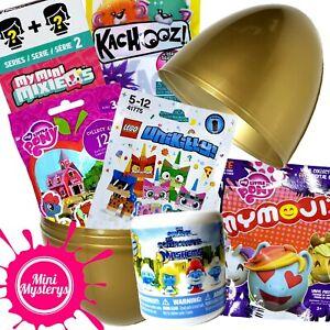 SURPRISE-Juguete-Regalo-Bundle-LEGO-EGG-Unikitty-MLP-Mini-paquetes-de-misterio-MixieQs-My