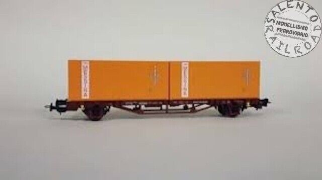 PIKO 97061 Tow Truck Goods Flatbed FS With 2 Container Messina 1:87