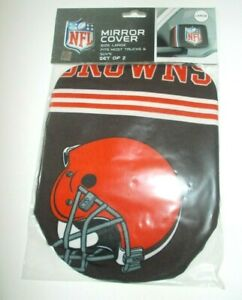 Cleveland Browns Mirror Cover 2 Pack Large Size Auto Car Truck Suv Ebay