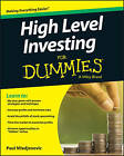 High Level Investing For Dummies by Consumer Dummies, Paul Mladjenovic (Paperback, 2016)