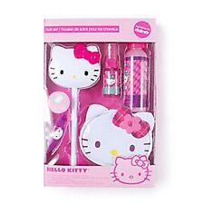 Hello Kitty Sanrio Hair Set Cosmetic Bag, Mirror Wand, Hair Clip Glitter Mist