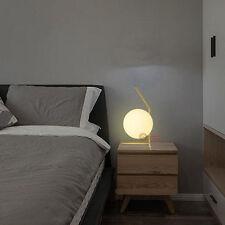Modern Glass ball LED Bulbs Table Lamp Desk light Reading lamp bedroom Lighting