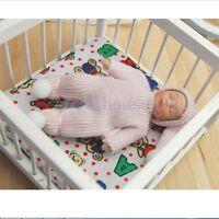 1:12 Scale Baby Doll House Miniature Figure Sleeping Beanie Dolls Nursery Toy