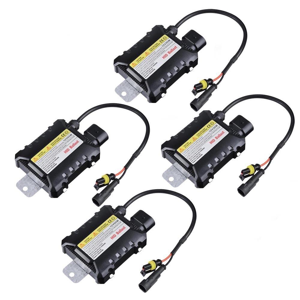 2X 35W//55W HID Xenon Replace Bulbs H1//4//7//8//11 9005//6 D1S D2S Car Headlight Lamp