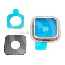 Fotocamera lente cornice Cover Ricambio Per Samsung Galaxy S5 i9600 SM-G900- ORO