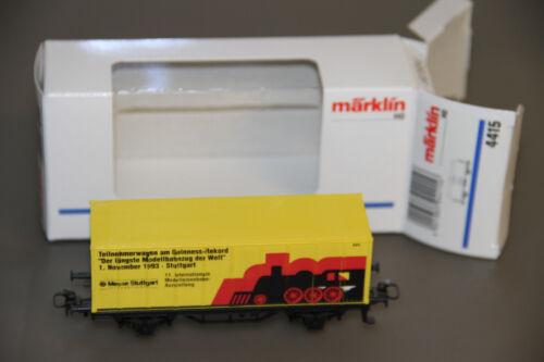 Märklin H0  Containerwagen  Guinness Rekord 1993 Stuttgart unbespielt //SOMO