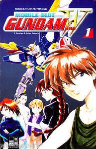 """mobile Suit Gundam Wing-volume 1 (01)""-afficher Le Titre D'origine"
