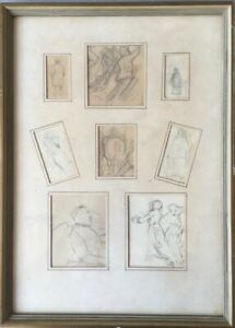 8-Sketches-H-C-Monogram-1926-expressive-Hugo-Carl-Mountain-1880-1943