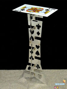 Top Quality Aluminum folding table (silver,poker table) - Magic Trick,Stage,Fun
