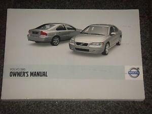 2009 volvo s60 owners manual ebay rh ebay com volvo s60 owners manual 2002 volvo s60 owners manual 2001