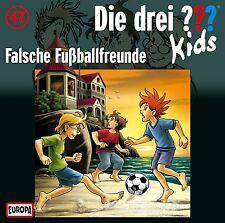DIE DREI ??? KIDS - 047/FALSCHE FUßBALL-FREUNDE  CD NEU