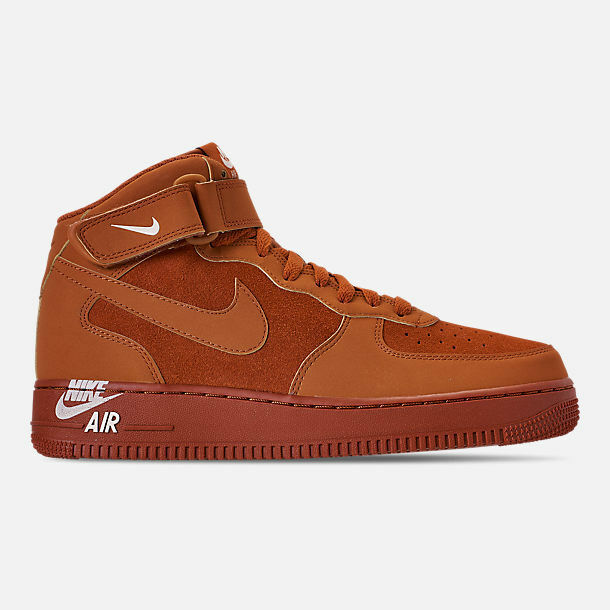 315123-207 Nike Air Force 1 '07 Mid Lifestyle Dark Russet Guava Ice Szs 8-13 NIB
