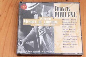 Poulenc-Integrale-Musique-de-Chambre-Complete-Chamber-Music-2-CD-RCA