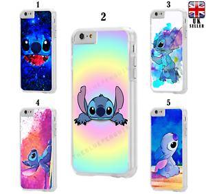 Disney-Lilo-amp-Stitch-Cartoon-Case-for-iPhone-4-5-5C-6-7-8-iPod-XR-X-XS-XS-Max