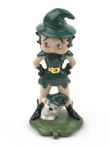 Wade-Betty-Boop-C-amp-S-Limited-Edition-Figurine-St-Patrick-039-s-Day-BOXED