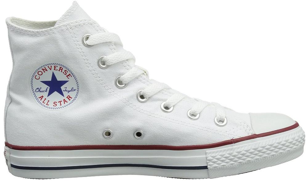 Converse Chuck Taylor Chucks All Star HI High Sneaker Scarpe bianco M7650 SALE Scarpe classiche da uomo