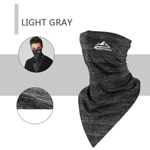 Details about  /Face Scarf Neck Gaiter Snood Headband Biker Bandana Dustproof Sun UV Protection