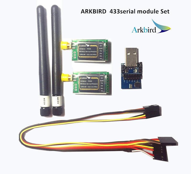 Arkbird ground control system 433 433mhz seriellen module kompatibel autopilot 2.0