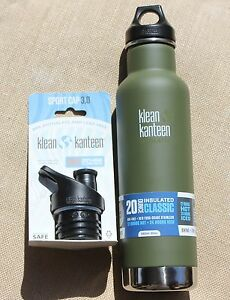 KLEAN-KANTEEN-Green-Fatigue-Tactical-Insulated-Bottle-Stainless-Steel-camouflage