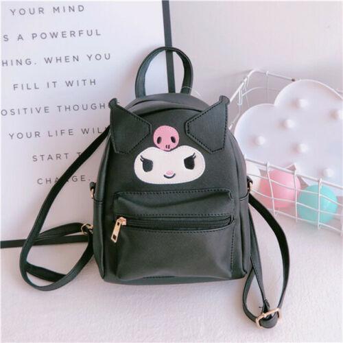 Details about  /Cute Women Girl/'s Kuromi Backpack Small Travel Shoulder Crossbody Bag Best Gift
