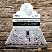 20 Harris Small Dollar Round Clear Coin Tube - Coin Supplies