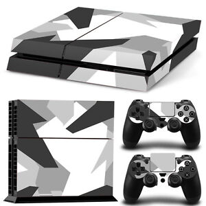 SKIN-PS4-PROTECTION-DECOR-CAMOUFLAGE-URBAIN-GRAPHIQUE-AUTOCOLLANT-STICKER-PS4015