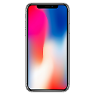 Apple Funda Silicona para iPhone X - Negra (MQT12ZM/A)