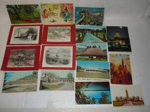 Postcard-Collectible-Lot-of-16-Vintage-Paper-Cards-from-the-1970-039-s-Canada-Rare