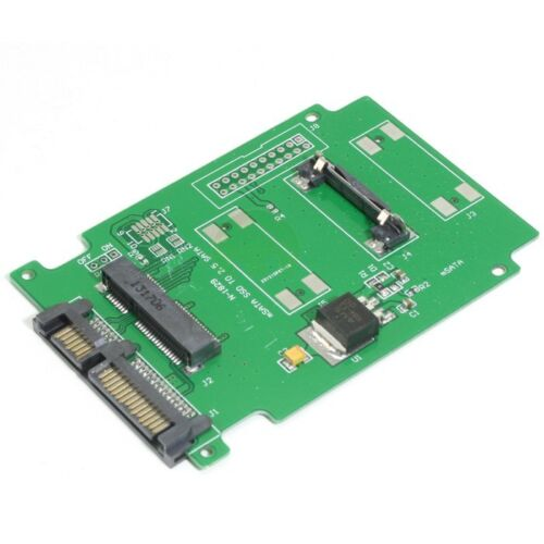 PCI-E PCIE 50mm mSATA SSD to 2.5 inch SATA Converter Adapter for Laptop