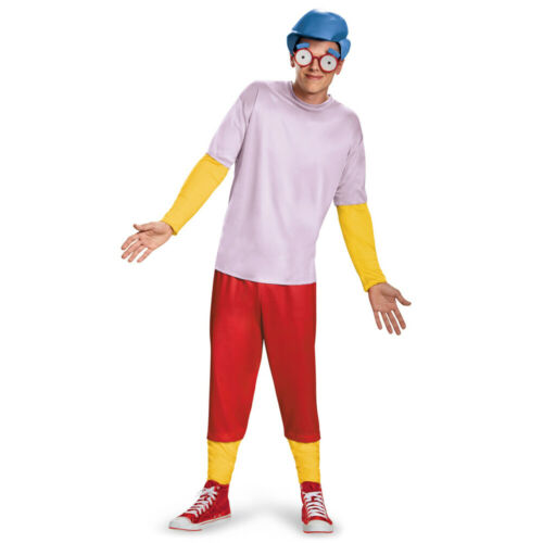 OFFICIAL MILHOUSE COSTUME THE SIMPSONS ADULTS CARTOON FUNNY NOVELTY FANCY DRESS